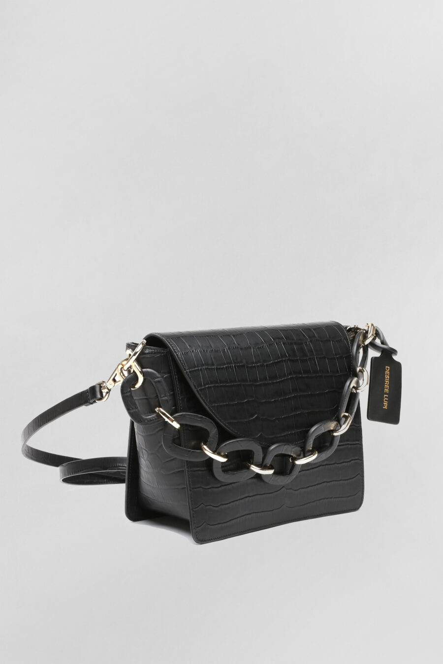 City bag Katy in pelle nera 2
