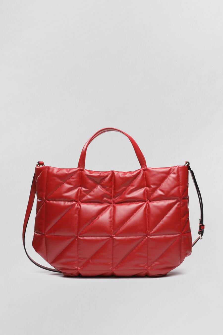Shopping bag Mery in pelle fiamma 1
